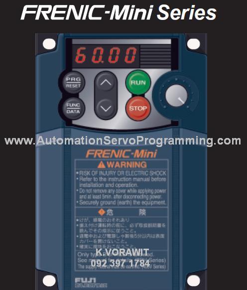 ศูนย์จำหน่าย Inverter Fuji Ac Servo Motor Panasonic ราคา
